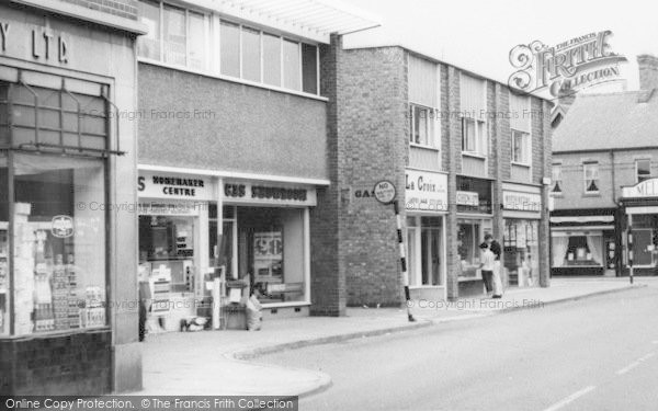 Photo of Wigston, Shops In The Town Centre c.1965