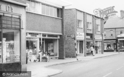 Wigston, Shops In The Town Centre c.1965