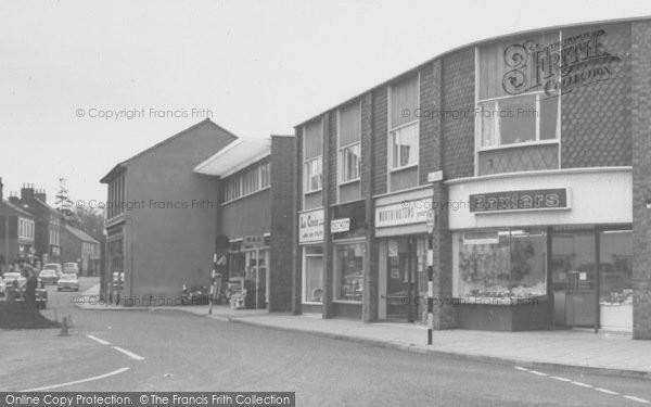 Photo of Wigston, Shops On Bell Street c.1965