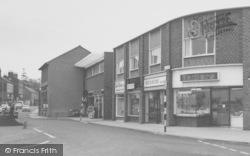 Wigston, Shops On Bell Street c.1965
