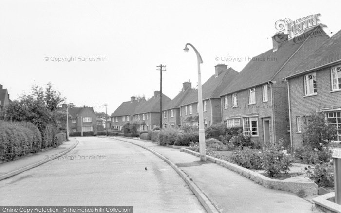 Photo of Wigston, South Avenue c.1965