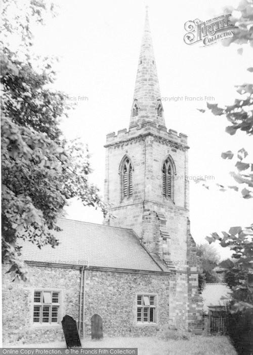 Photo of Wigston, St Wistan's Church c.1965