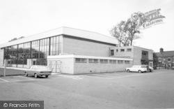 Wigston, Swimming Pool c.1965