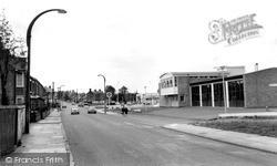Wigston, The Fire Station, Bull Head Street c.1965