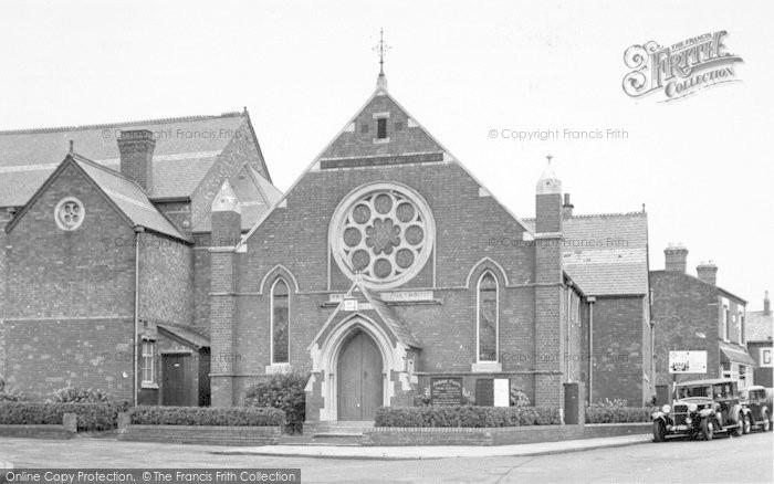 Photo of Wigston, The Methodist Church c.1955