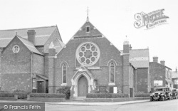 Wigston, The Methodist Church c.1955