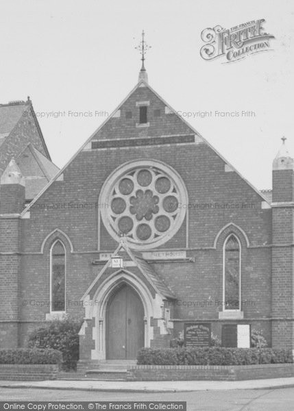 Photo of Wigston, The Methodist Church c.1955
