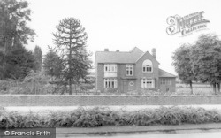Wigston, The Poplars, Leicester Road c.1955