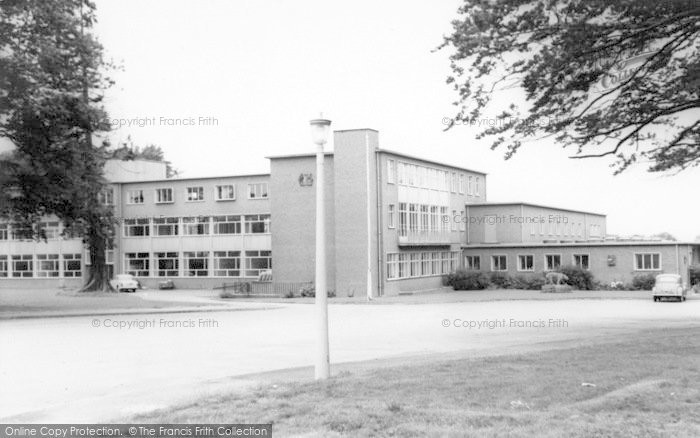 Photo of Wigston, The School Base c.1965