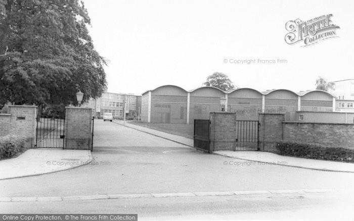 Photo of Wigston, The School Base c.1965