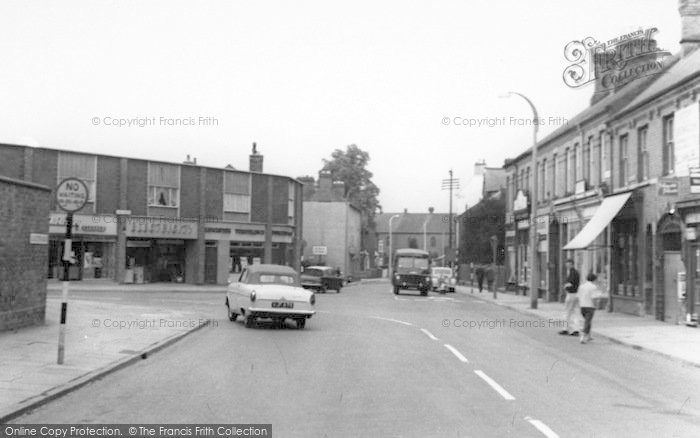 Photo of Wigston, The Town Centre c.1965