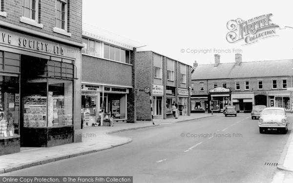 Photo of Wigston, The Town Centre c.1965
