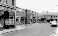 Wigston, the Town Centre c1965