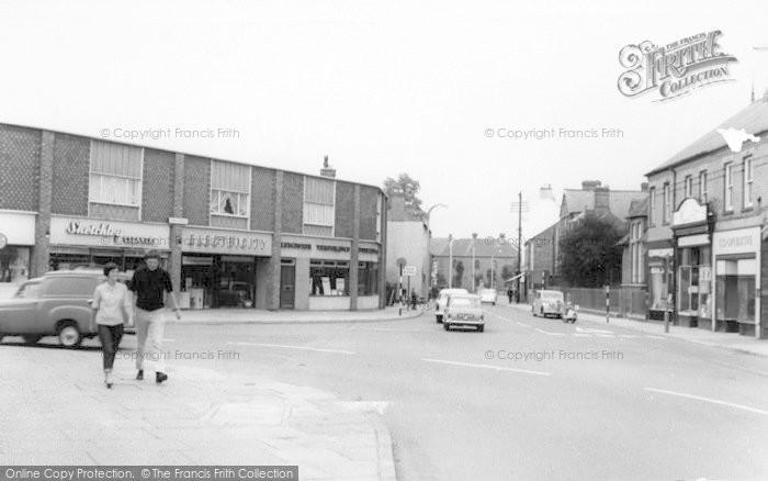 Photo of Wigston, Town Centre c.1965