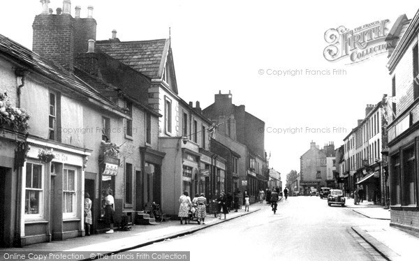 Photo of Wigton, King Street c1955, ref. W424018