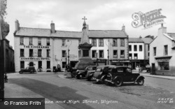 Market Place And High Street c.1955, Wigton