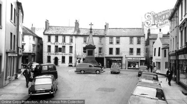 Photo of Wigton, Market Square c.1965