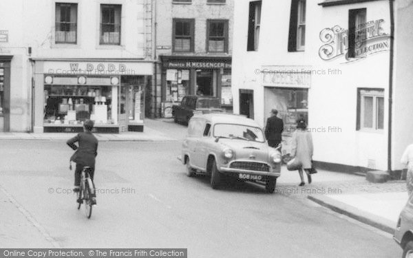 Photo of Wigton, Shops In The Square c.1965
