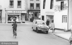 Wigton, Shops In The Square c.1965