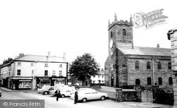 Wigton, St Mary's Church And Square c.1965