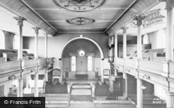 Wigton, The Parish Church Interior c.1955