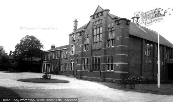Photo of Wigton, The School c.1965