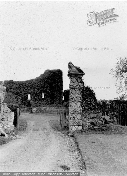 Photo of Wigtown, Baldoon Castle c.1950
