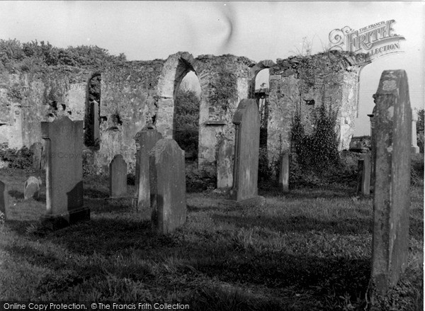 Photo of Wigtown, The Old Church 1958