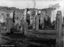 Wigtown, The Old Church 1958