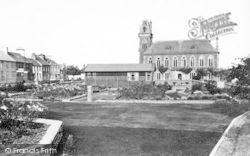Wigtown, The Square c.1955