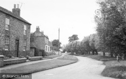 Wilberfoss, Beckside c.1960