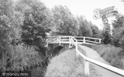 Wilberfoss, Church Bridge c.1960