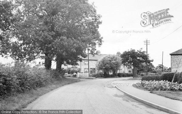 Photo of Wilberfoss, Fangfoss Lane c.1960