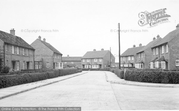 Photo of Wilberfoss, Hawthorne Drive c.1960