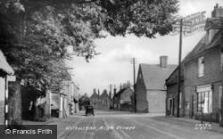 High Street c.1955, Wilburton