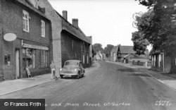 Post Office And Main Street c.1960, Wilburton