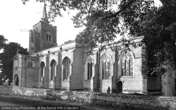 Photo of Wilburton, St Peter's Church c.1955