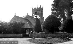 Church Of The Holy Cross c.1955, Wilcot