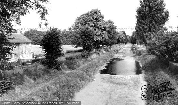 Photo of Wilcot, The Canal c.1955