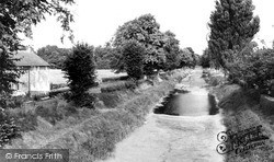 Wilcot, The Canal c.1955
