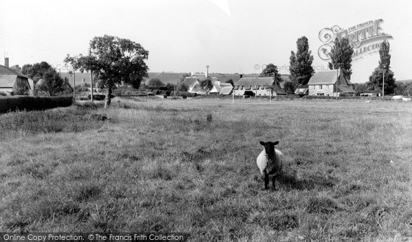 Photo of Wilcot, The Village c.1955