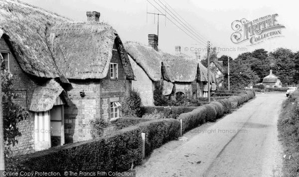 Photo of Wilcot, The Village c.1955