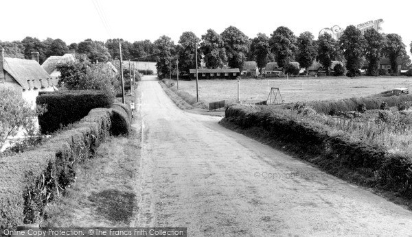 Photo of Wilcot, The Village Green c.1955