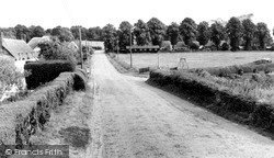 The Village Green c.1955, Wilcot