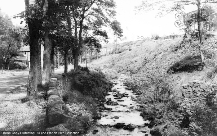 Photo of Wildboarclough, Clough Brook c.1960