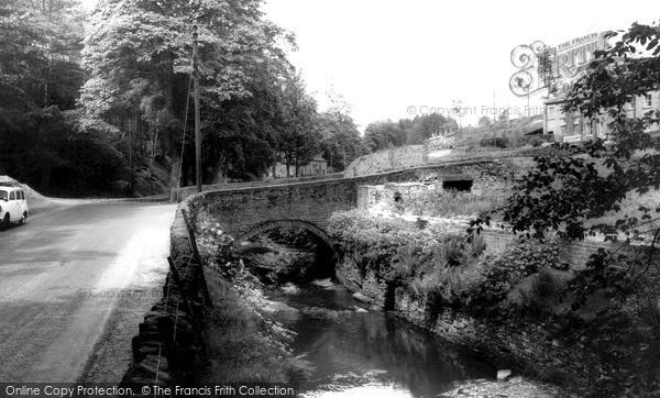 Photo of Wildboarclough, Crag Bridge c.1960