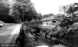Wildboarclough, Crag Bridge c.1960