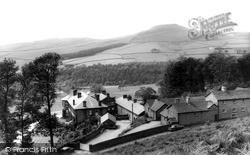 Crag Hall And Shuttlingsloe c.1960, Wildboarclough