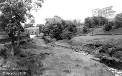 Wildboarclough, Crag Inn And Clough Brook c.1960