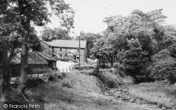 Wildboarclough, Crag Inn c.1960